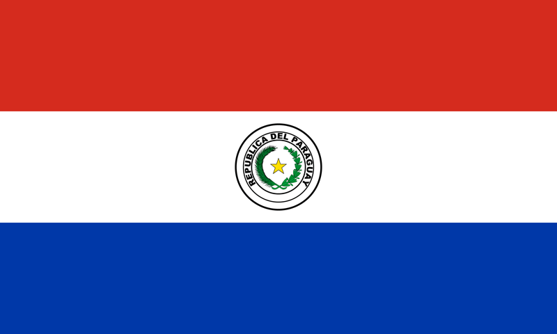 Paraguay flag package