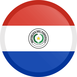 Paraguay flag vector - free download