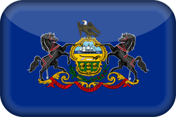 Flag of Pennsylvania - 3D