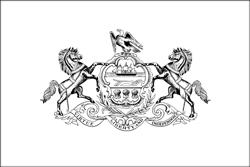 Vlag van Pennsylvania - A4