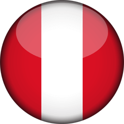 Peru vlag vector - gratis downloaden