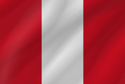 Peru flag vector - free download