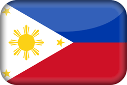 Flag of the Philippines - 3D