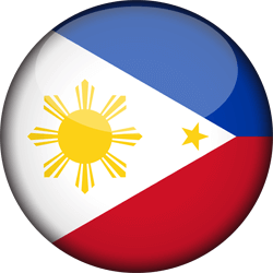 Flag of the Philippines - 3D Round