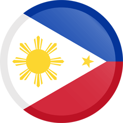 Flag of the Philippines - Button Round