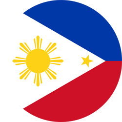 Flag of the Philippines - Round