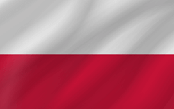 Polen vlag icon - gratis downloaden