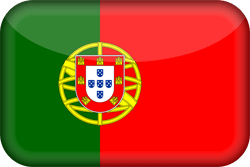 Flag of Portugal - 3D