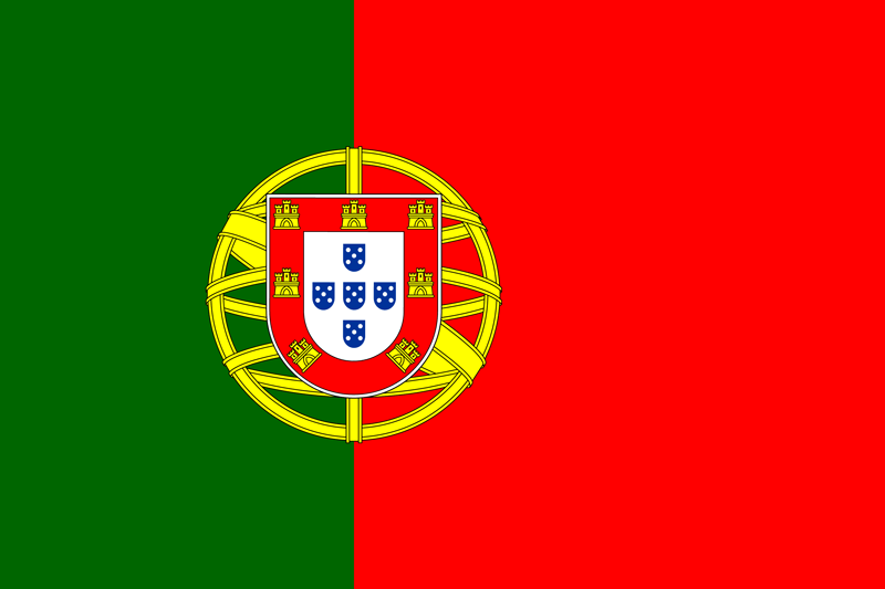 Portugal flag package