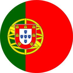 Flag of Portugal - Round
