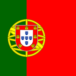 Portugal flag vector - free download