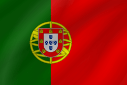 Drapeau du Portugal - Vague