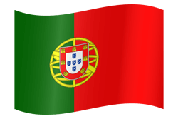 Flag of Portugal - Waving