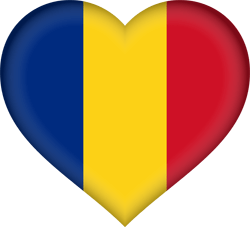 Romania flag vector - free download