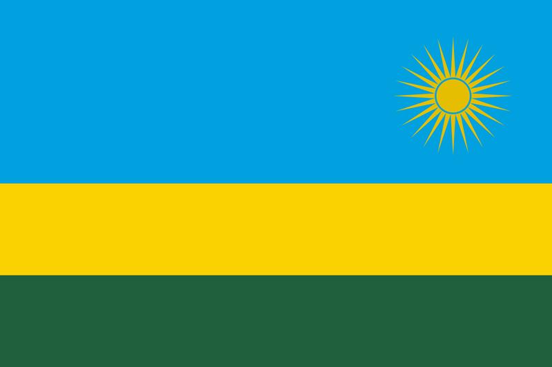 Rwanda vlag package