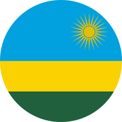 Rwanda flag icon - free download