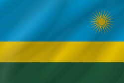 Flagge von Ruanda Bild - Gratis Download