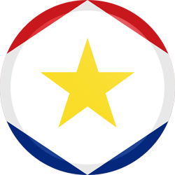 Flag of Saba - Button Round
