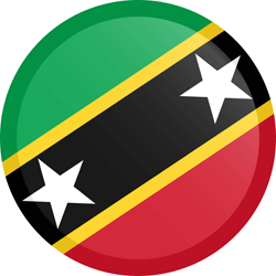 Saint Kitts en Nevis vlag vector - gratis downloaden