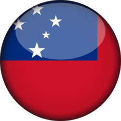 Samoa flag icon - free download