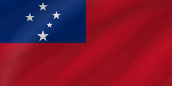 Flagge von Samoa Vektor - Gratis Download
