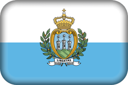 Flag of San Marino - 3D