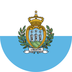 Flag of San Marino - Round