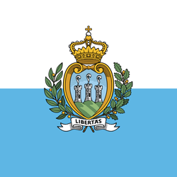 Flag of San Marino - Square