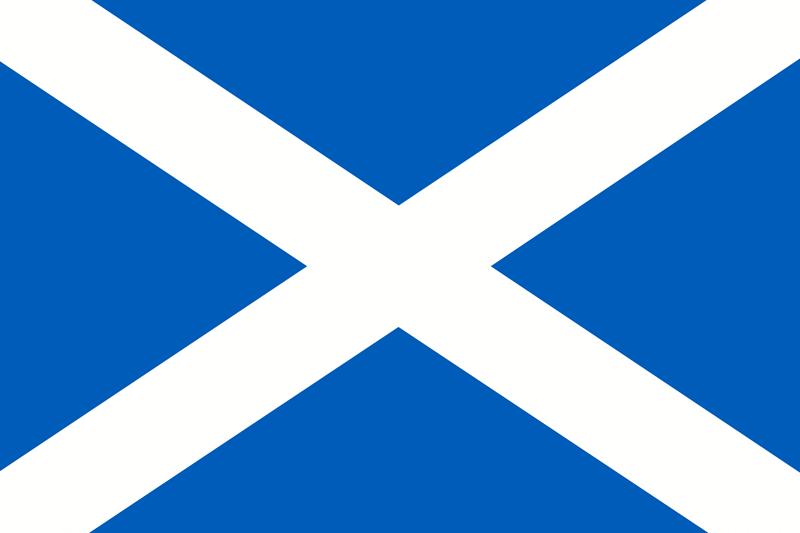 Set complet drapeau Écosse