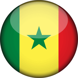 Senegal vlag icon - gratis downloaden