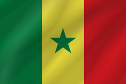 Senegal vlag emoji - gratis downloaden