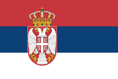 Flag of Serbia - Original