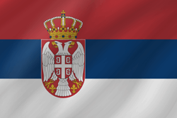 Flag of Serbia - Wave