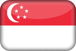 Singapore vlag emoji - gratis downloaden