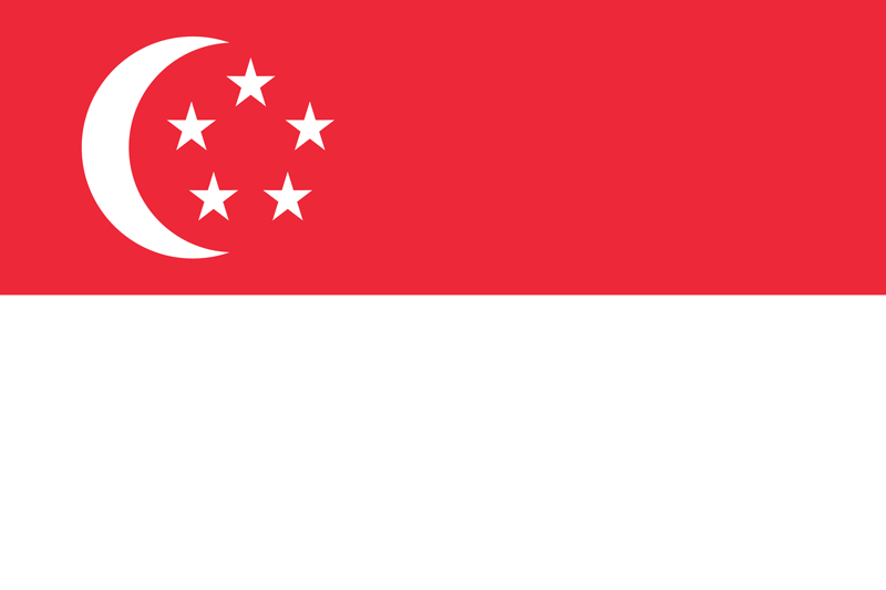 Singapore vlag package
