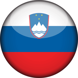 Flag of Slovenia - 3D Round