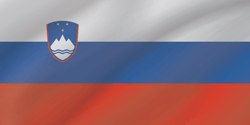 Flag of Slovenia - Wave