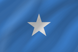Flag of Somalia - Wave