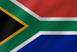 Flag of South Africa - Wave