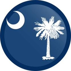 South Carolina vlag vector - gratis downloaden