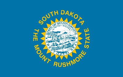 Flagge von South Dakota - Original