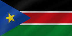 Flagge von Süd-Sudan Vektor - Gratis Download