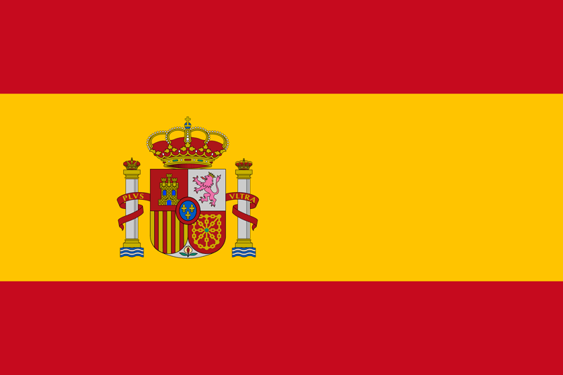 Spain flag package