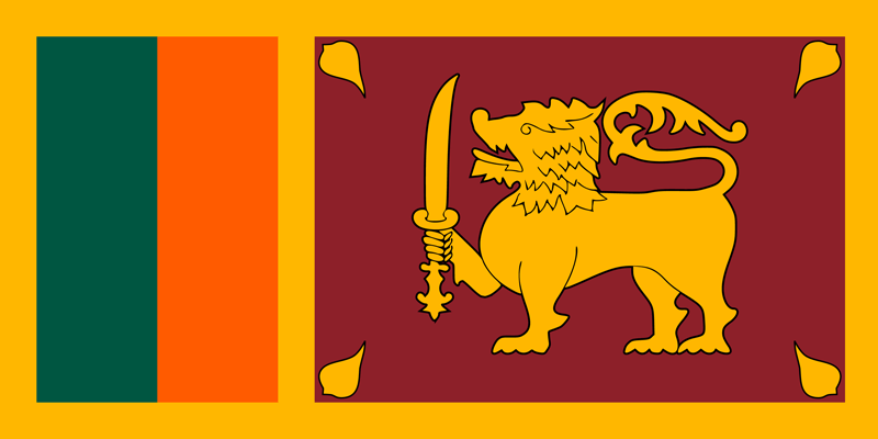 Sri Lanka flag package