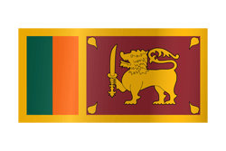 Flagge von Sri Lanka Icon - Gratis Download