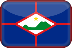 Flag of St. Eustatius - 3D