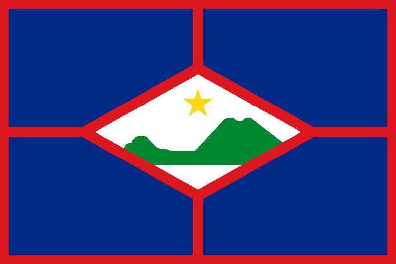 Sint Eustatius vlag package