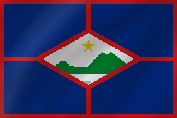Flag of St. Eustatius - Wave