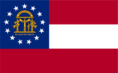 Flag of Georgia - Original