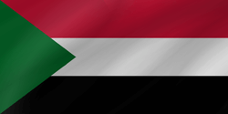 Flag of Sudan - Wave